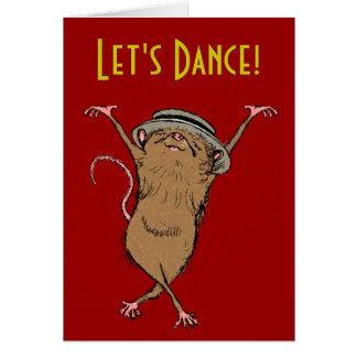 """Let's Dance!"" Card"