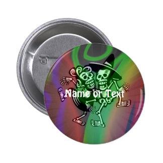 lets dance colorful buttons