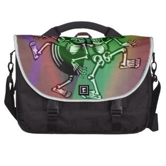 lets dance colorful laptop bag