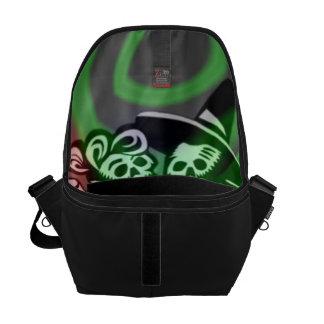 lets dance colorful messenger bag