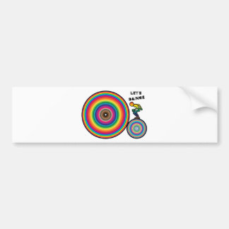 Lets Dance Cool Wear and Gift Bumper Sticker