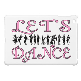 Let's Dance Dancing Couples iPad Mini Cover