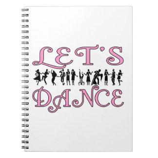 Let's Dance Dancing Couples Notebook