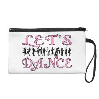 Let's Dance Dancing Couples Wristlet Purse