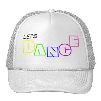 Let's DANCE hat