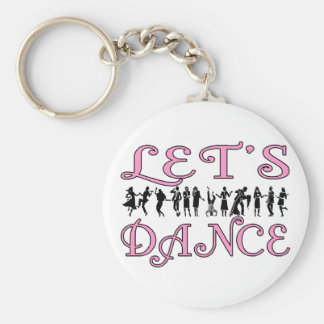 Let's Dance Keychain