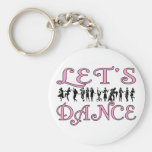 Let's Dance Keychains