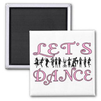 Let's Dance Magnet