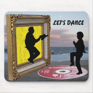 LET'S DANCE-MOUSEPAD MOUSE PAD