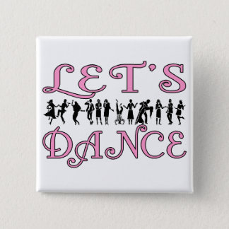 Let's Dance Pinback Button