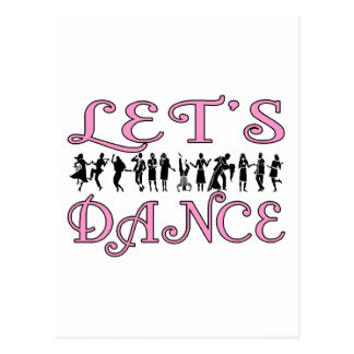 Let's Dance Postcard