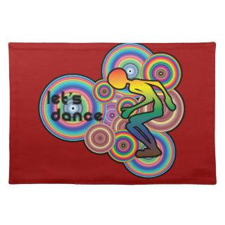 Lets Dance Retro Design Placemats