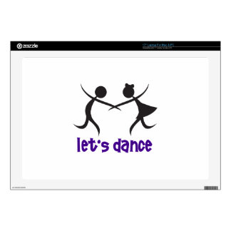 LETS DANCE DECAL FOR LAPTOP