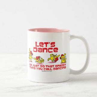 Let's Dance Two-Tone Coffee Mug