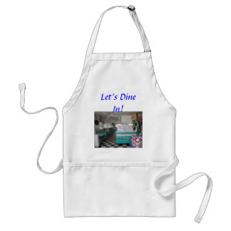 Let's Dine In! Adult Apron