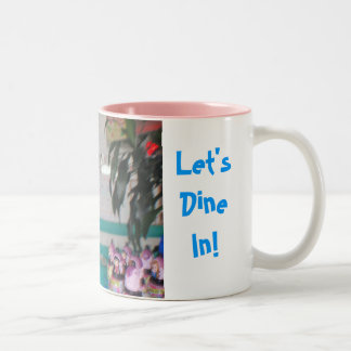 Let's DineIn! Two-Tone Coffee Mug