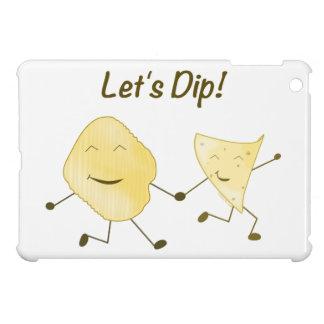 Let's Dip! (Cartoon Potato & Tortilla Chip) iPad Mini Case