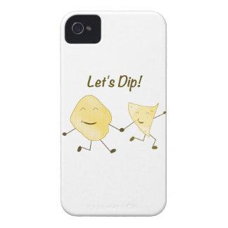 Let's Dip! iPhone 4 Case-Mate Case