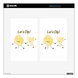 Let's Dip! Skin For Kindle Fire