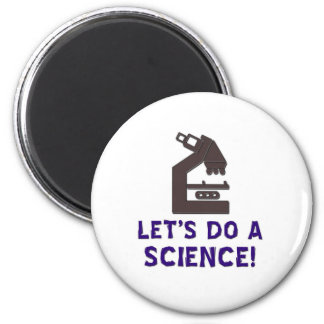 Let's do a science! magnet