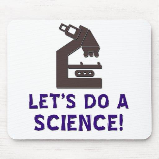 Let's do a science! mousepads