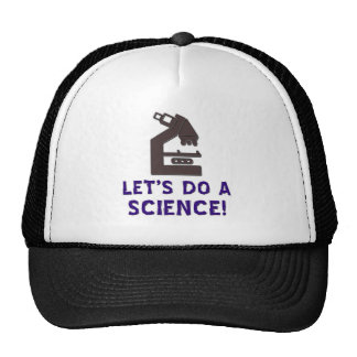 Let's do a science! trucker hat