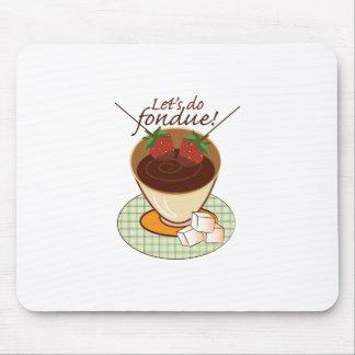 Let's do fondue! mousepad