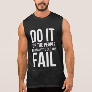 Let's Do it Gym motivation tanks