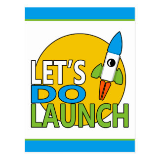 Let's Do Launch Postcard