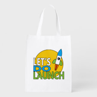 Let's Do Launch Reusable Grocery Bags