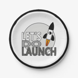 Let's Do Launch V.2 Paper Plate