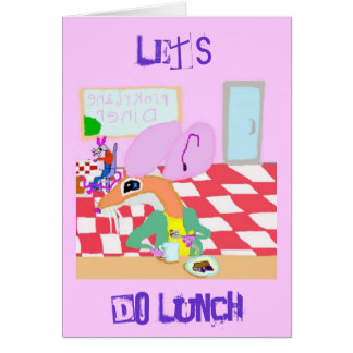 Let's Do Lunch Card