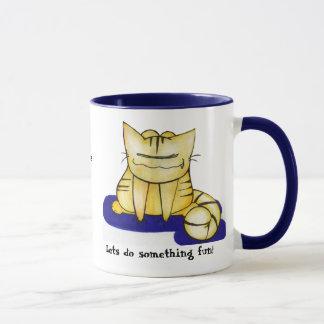 Lets do something fun mug