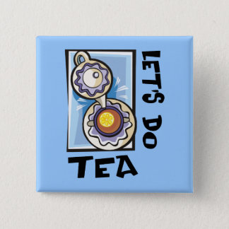 Let's Do Tea Button