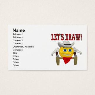 Lets Draw Business Card