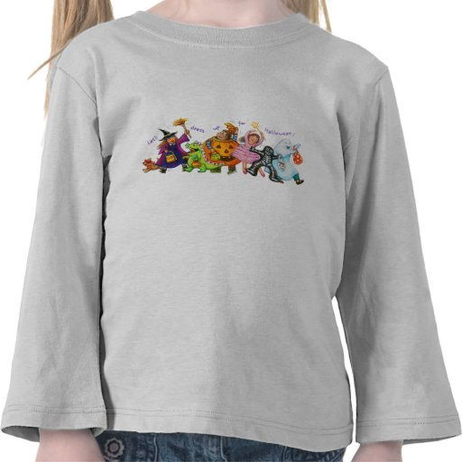 Let's Dress Up For Halloween Toddler Tee