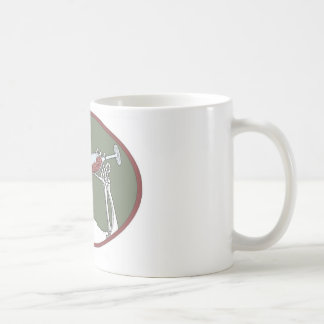 lets drink classic white coffee mug