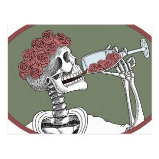 lets drink postcard