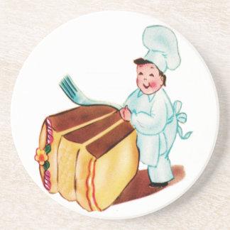 Let's Eat Cake Coaster