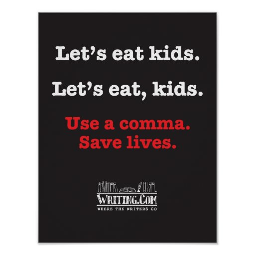 Let's eat kids. posters