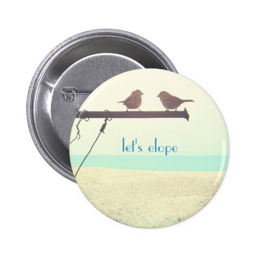 Let's Elope! Button