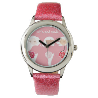 Let's End Endo - Glitter Watch