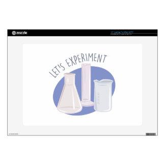 "Lets Experiment 15"" Laptop Skins"