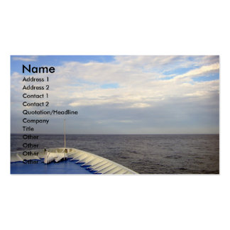 Let's Explore/Cruising Business-Profile Card Double-Sided Standard Business Cards (Pack Of 100)