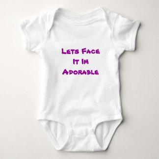 Lets Face It ... Im Adorable Baby Bodysuit