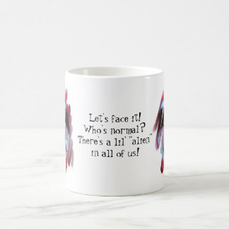 Let's Face it! Who's Normal? Coffee Mug