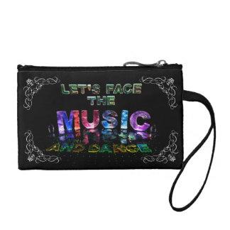 Let's Face the Music & Dance Change Purse