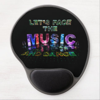 Let's Face the Music & Dance Gel Mouse Pad