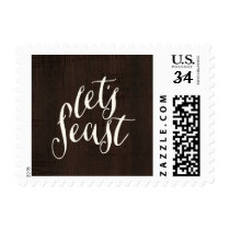 Let's Feast | Thanksgiving Postage
