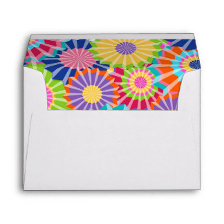Let's fiesta Envelope Mexican Party Floral Shower